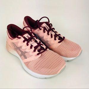 ASICS Road Hawk FF 2 Running Shoes Pink 7.5 New